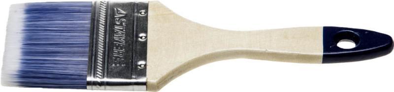 Кисть плоская Stayer AQUA-STANDARD искусственная щетина деревянная ручка 50мм 01032-050