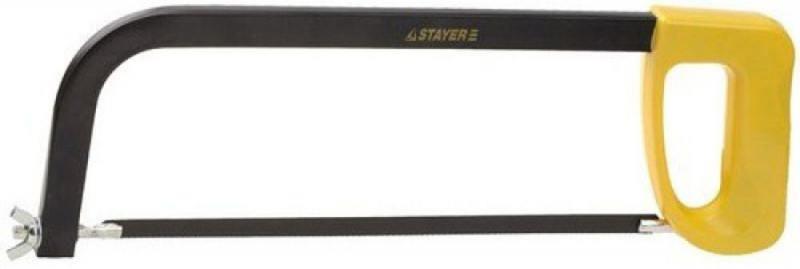 Ножовка Stayer Master по металлу пластмассовая ручка 300мм 1576_z01