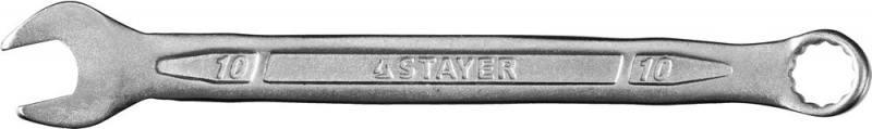 Ключ Stayer Profi гаечный комбинированный 27081-10