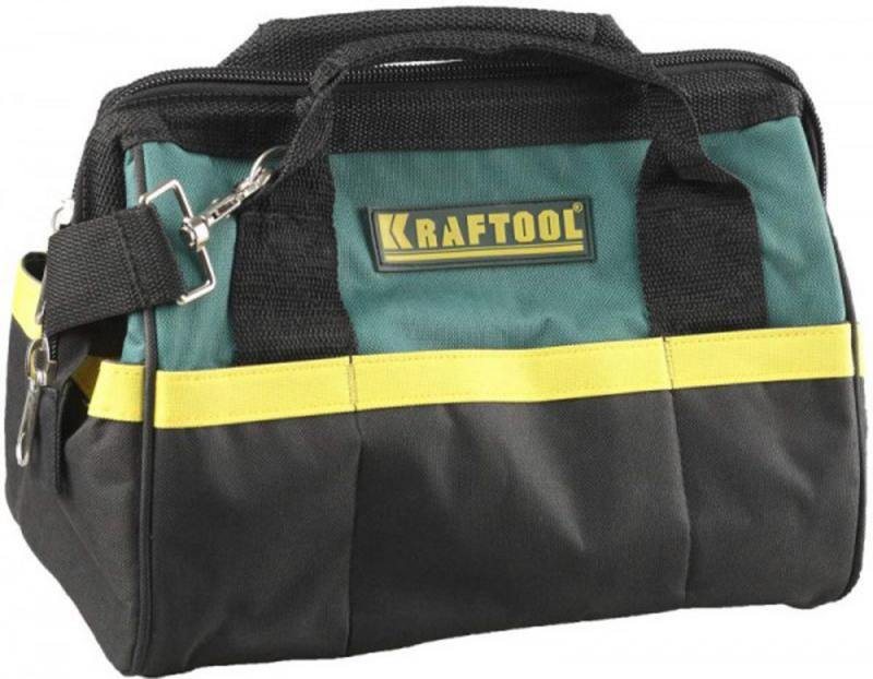 Сумка для инструмента Kraftool 12 20 карманов 38712-12_z01 kraftool