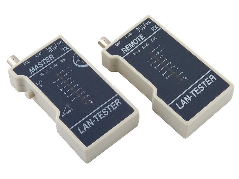 Тестер кабеля 5bites LY-CT013 для тестирования UTP / STP / BNC / TEL