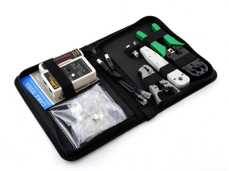 Набор инструментов 5bites TK031 клещи LY-T2007C универсальные LY-T2021 Krone нож LY-501B тестер кабе