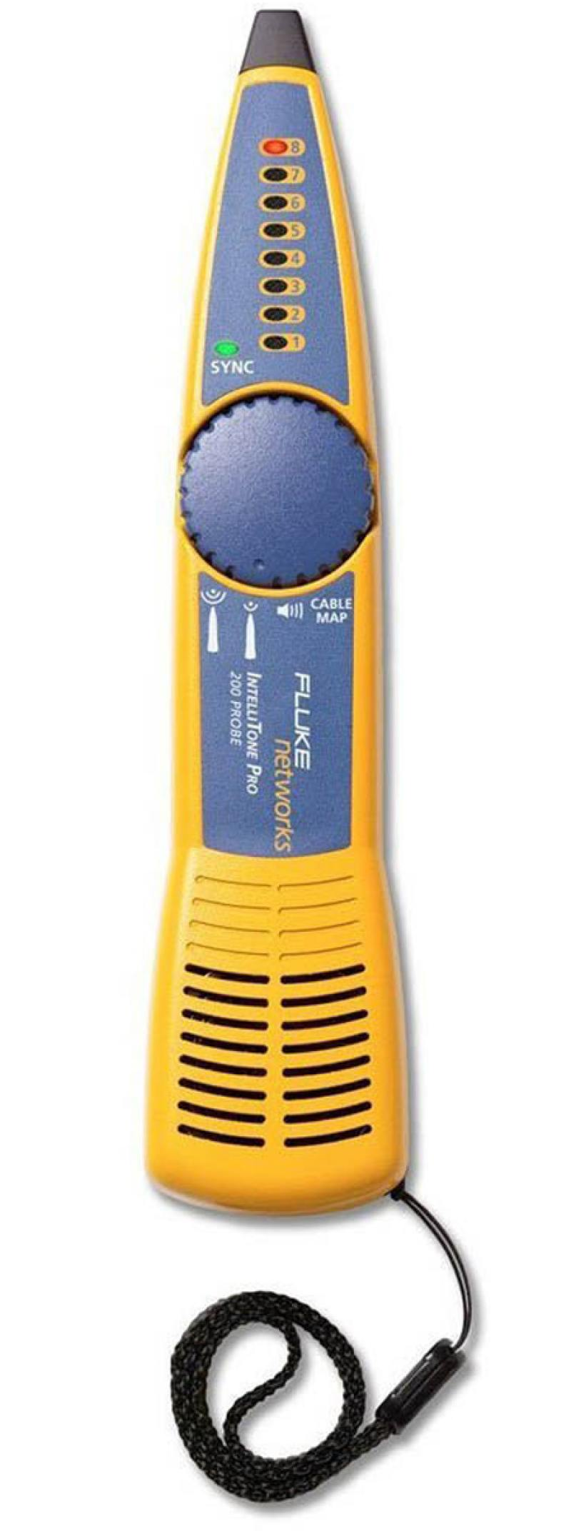 Набор для трассировки кабелей Fluke MT-8200-63A IntelliTone 200 Probe elecall a 18 j pvc needle tip probe test leads pin hot universal digital multimeter multi meter tester lead probe wire pen cable