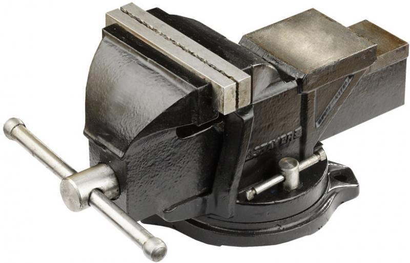 Тиски Stayer MASTER с поворотным механизмом 120мм/7кг 3256 тиски stayer master слесарные поворотные 145мм 3256 150