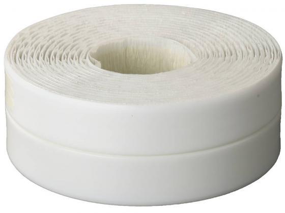 Лента Stayer Profi бордюрная для ванн и раковин самоклеящаяся профиль L белый 20х20мм х 3.35м 12341-