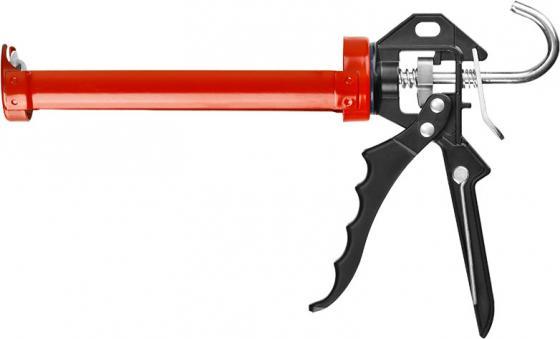 Пистолет для герметика Зубр Эксперт полуоткрытый 06635