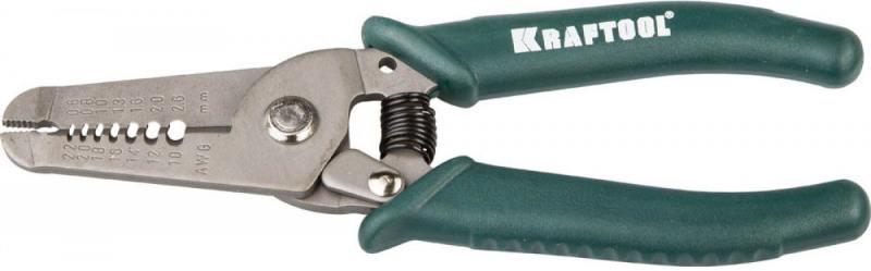 Пассатижи Kraftool для снятия изоляции 0.8-2.6мм 150мм 22660-15
