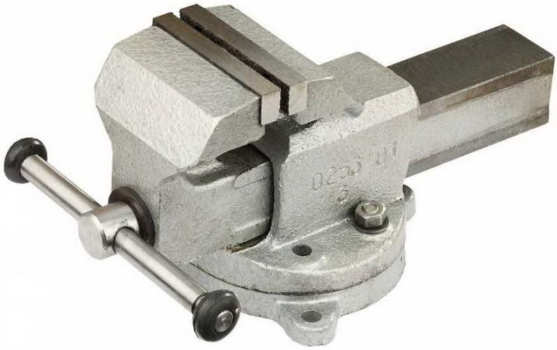Тиски Зубр ЭКСПЕРТ с поворотным основанием 80мм 32602-80
