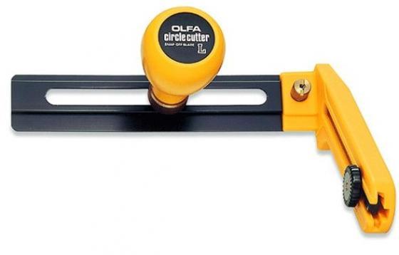 Нож Olfa циркульный с сегментированным лезвием 18х100х0.5мм диаметр реза 70-300мм OL-CMP-2