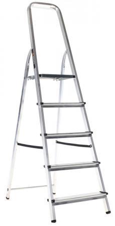 Лестница-стремянка Вихрь СА 1х5 алюминиевая стремянка вихрь са 1х4