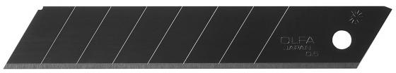 Лезвие Olfa Black Max сегментированное 8 сегментов 18х100х0.5мм 50шт OL-LBB-50B