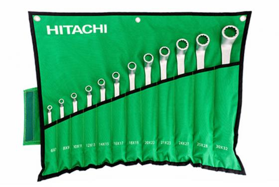 Набор гаечных ключей Hitachi HTC-774019 12шт
