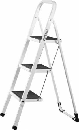 Лестница-стремянка Сибин стальная 3 ступени 38807-03 стремянка стальная 4 ступени алюмет m8404