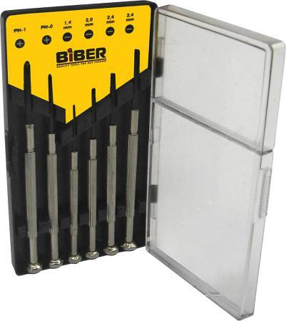 Набор отверток BIBER 85565 для точных работ 6шт. hengjiang diy electric car racing track building blocks educational toy
