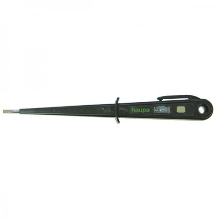 Отвертка индикаторная HAUPA 100700 для проверки наличия напряжения VDE/GS