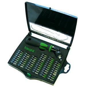 Отвертка с трещоточным механизмом HAUPA 104006 55 предметов все цены