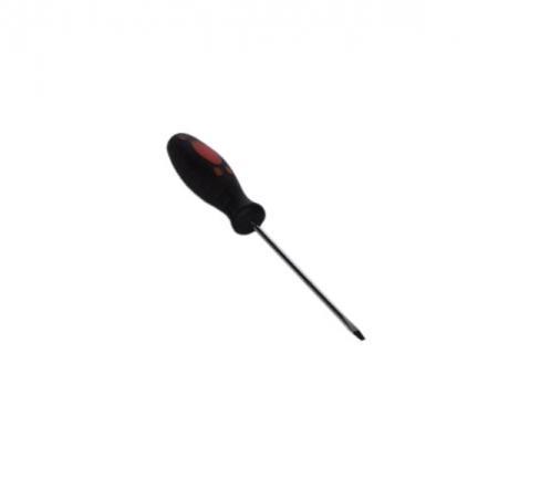 Отвертка SANTOOL 031410-032-100 3.2х100мм шлицевая с двухкомпонентной ручкой