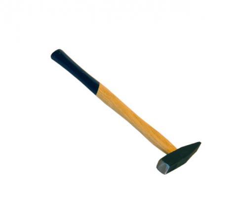 Молоток SANTOOL 030811-020 200г немецкого типа деревянная ручка квадратный боек молоток слесарный santool 030811 020
