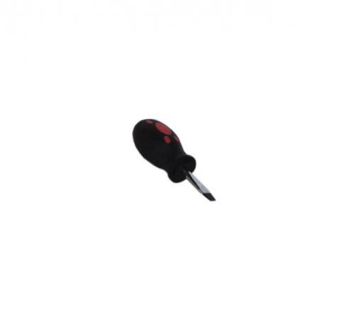 Отвертка SANTOOL 031410-060-038 6.0х38мм шлицевая с двухкомпонентной ручкой отвертка крестовая santool 031410 201 150