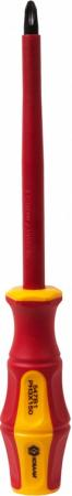 Отвертка КОБАЛЬТ 646-515 диэлектрическая Ultra Grip PH-3 х 150мм CR-V, двухком.рукоятка 1шт подвес термос mayer