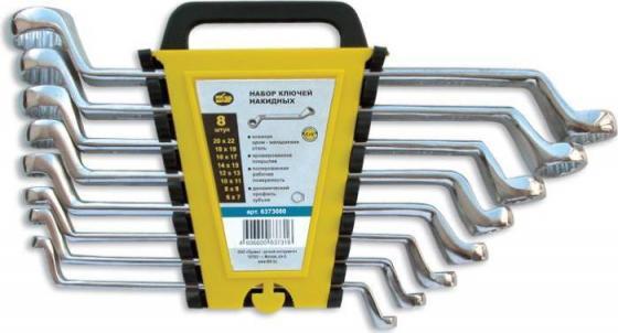 Набор накидных ключей SPARTA 153755 (6 - 22 мм) 8 шт. набор отверток sparta 8 шт 135435