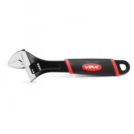 Ключ разводной VIRA 311021 (0 - 28 мм) 254 мм плиткорез vira 810003 300 мм