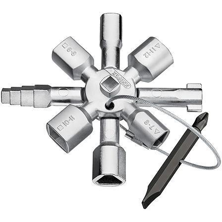 Ключ шкафной KNIPEX KN-001101 (5 / 12 мм) 92 мм бокорезы knipex kn 1426160