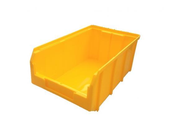 Ящик СТЕЛЛА V-3 9,4 литр, желтый пластик 341х207х143мм