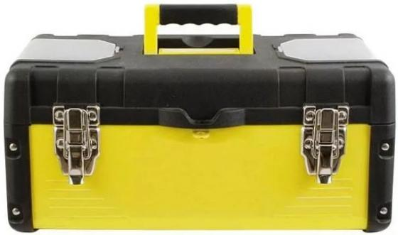 Ящик для инструмента FIT 65592 18 (45 х 24 х 20 см), металл.замки, стенки стальные