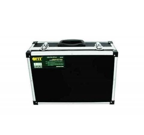 Ящик для инструмента Fit 43х31х13 алюминиевый черный 65630 ящик для инструментов fit 43x31x13cm black 65630