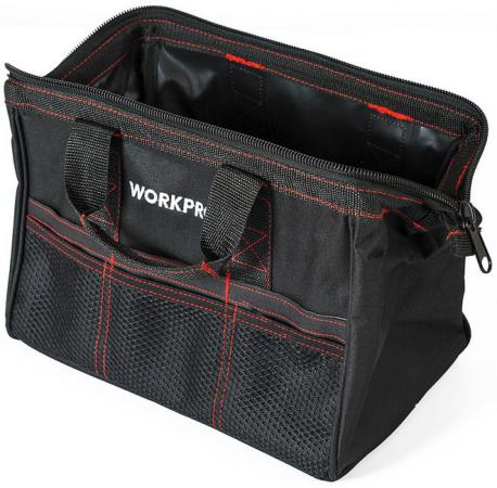Сумка WORKPRO W081001 для инструмента 6карманов 320х210х230мм tool bag workpro w081020ae