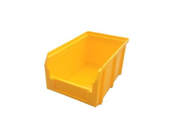 Ящик СТЕЛЛА V-2 3,8 литр, желтый пластик 234х149х121мм