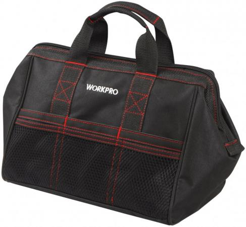 Сумка WORKPRO W081003 для инструмента 6карманов 445х290х320мм tool bag workpro w081020ae