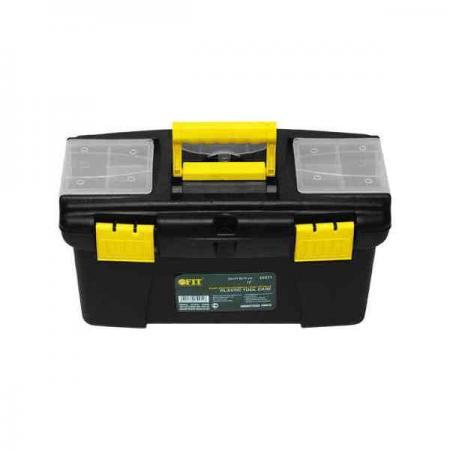Ящик для инструмента FIT 65571 пластиковый 12 (32 х 17,5 х 16 см) ящик для инструмента пластиковый fit 16 цвет черный красный 39 см х 20 см х 17 см