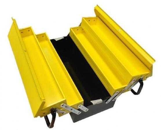 Ящик для инструментов STANLEY Expert Cantilever 1-94-738 с 5-тью раскладными секциями металлический
