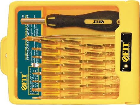 Набор отверток FIT 56188 для точных работ, 30 шт набор отверток fit 56041