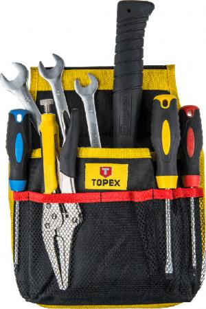 Карман для инструмента Topex 79R430 11 гнезд topex 39d504