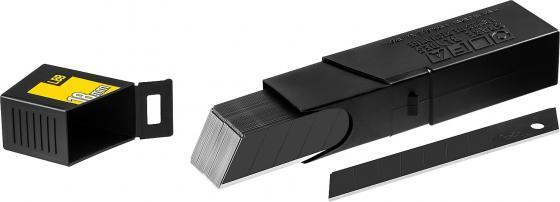 Лезвия для канцелярского ножа OLFA OL-LB-50B 18мм, 50 шт. в боксе лезвие сегментированное olfa 18х100х0 5мм 8 сегментов 50шт ol lb 50b