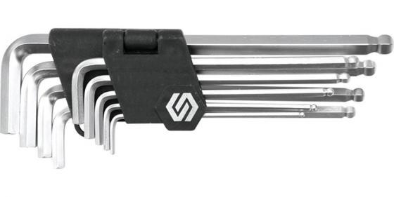 Набор ключей VOREL 56475 шестигранников с шаровым наконечником 9шт 2.5-10мм