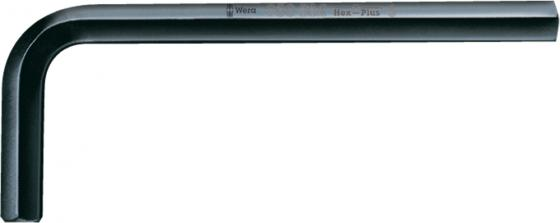 Ключ угловой WERA 027209 Hex-Plus, DIN 911 1 шт, 6 мм
