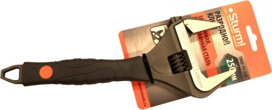 Ключ разводной Sturm 250мм 1045-11-250 ключ трещотка sturm 1045 16 r38