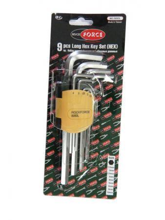 Набор ключей ROCK FORCE RF-5093L шестигранных удлиненных 1.5-10мм 9пр. /1/25/50