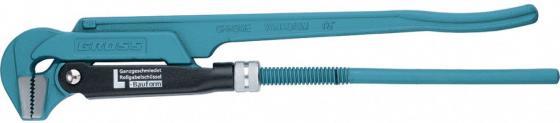 Ключ трубный рычажный GROSS 15603 №2 1,5 цельнокованный CrV, тип - L