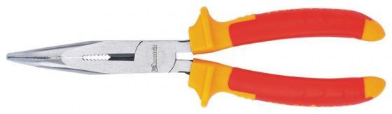 Утконосы MATRIX 17474 длинногубцы изогнутые insulated 200мм двухкомпонентные рукоятки