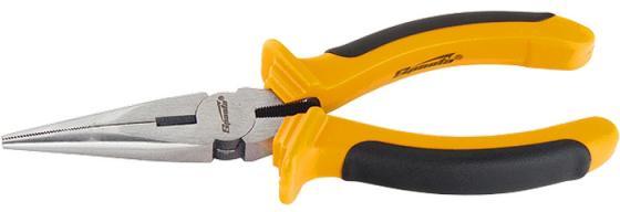 Утконосы SPARTA 17169 длинногубцы comfort 200мм прямые шлифованные двухкомпонентные рукоятки