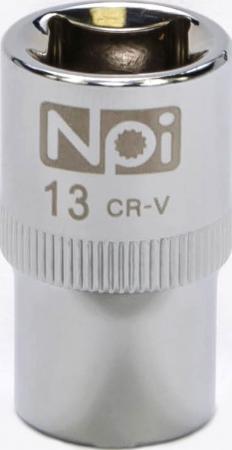 Головка торцевая NPI 20013 1/2 13мм vivin 34 55 1 vh058