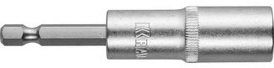 Головка KRAFTOOL EXPERT 26396-12 удлиненная Cr-V E 1/4 12мм