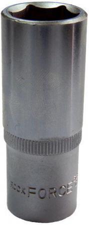 Головка ROCK FORCE RF-5457721 торцевая 1/2dr 6-гранная глубокая 21х75мм