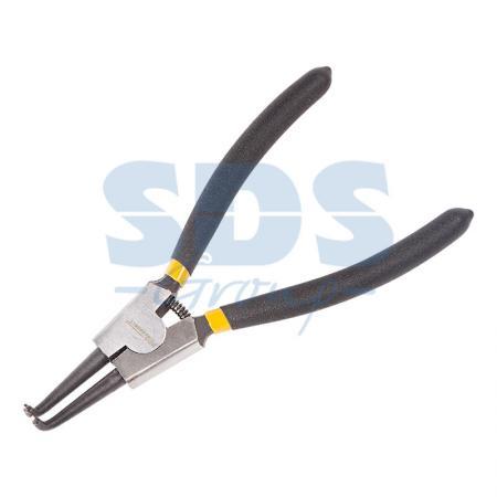 Щипцы для стопорных колец сжим загнутый 180 мм Proconnect