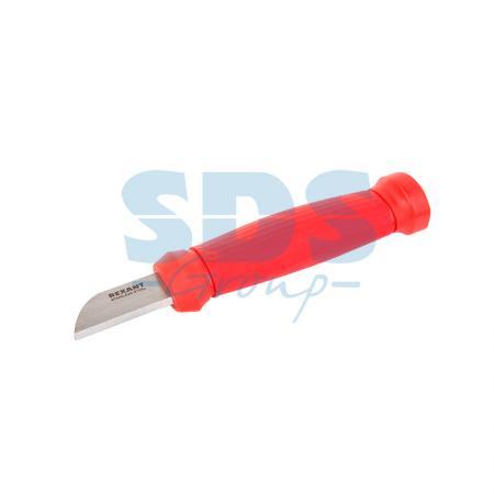 Нож монтажника нержавеющая сталь лезвие 42 мм Rexant нож строительный нержавеющая сталь лезвие 95 мм rexant